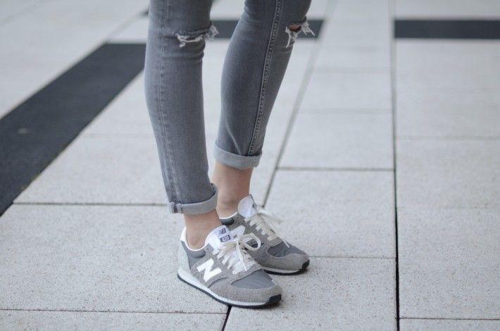 new balance 410 grey trainers